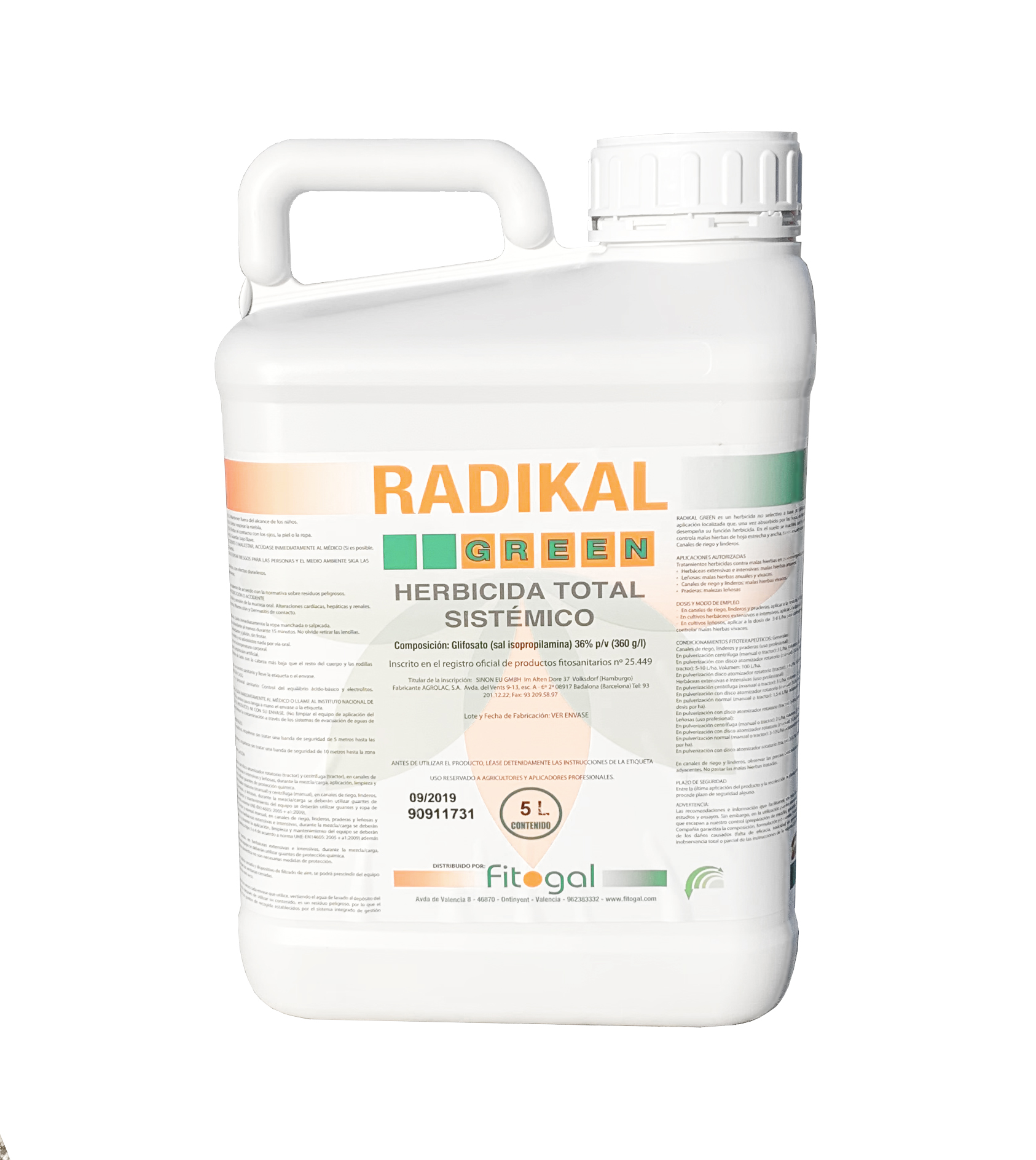 Free 24-48h France Désherbant Herbicide 5L all gardens concentrated eliminate weeds and foams