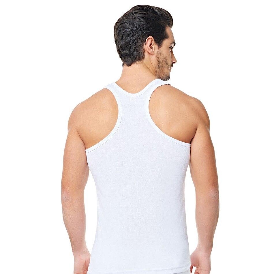 Assorted Colours 3 Mens Vests 100/% Cotton Singlets Underwear S M L XL XXL