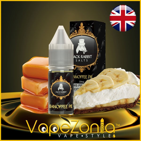 Jack Rabbit Salts BANOFFEE PIE 10 Ml Sales De Nicotina