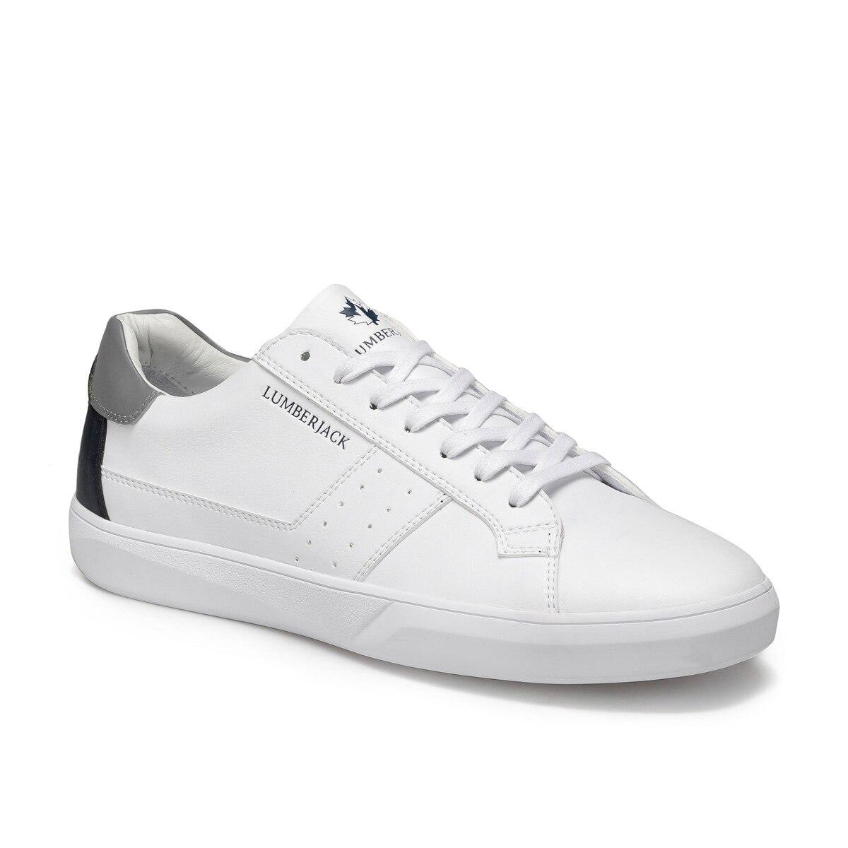 FLO GABRIEL White Male Sneaker LUMBERJACK
