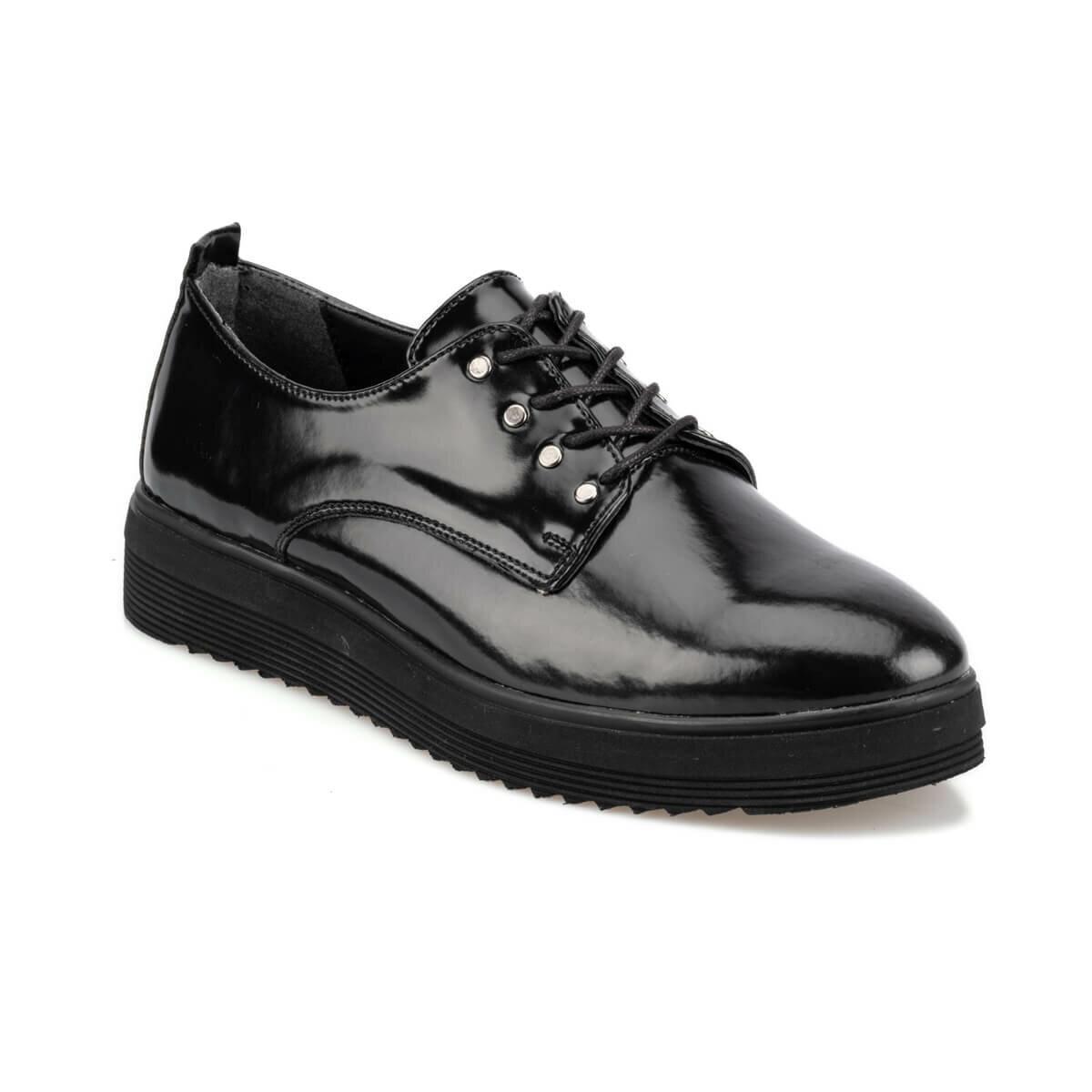 FLO 92.314165RZ Black Women Oxford Shoes Polaris