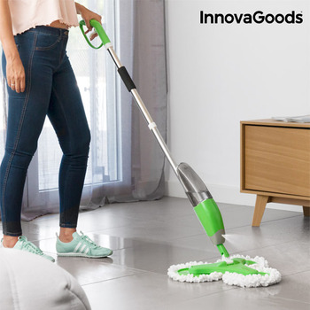 InnovaGoods Triple Dust Mop with Spray