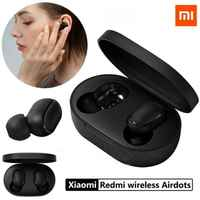 Xiaomi Redmi Airdots auriculaire inalámbrico Bluetooth, BT 5.0 Estéreo Bajo Inalámbrico Auriculares de réducción de ruido Micrófon