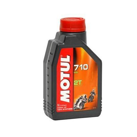 Lubricating Oil For Motorbike Motul 710 Synthetic 2 Stroke 1 Litre.