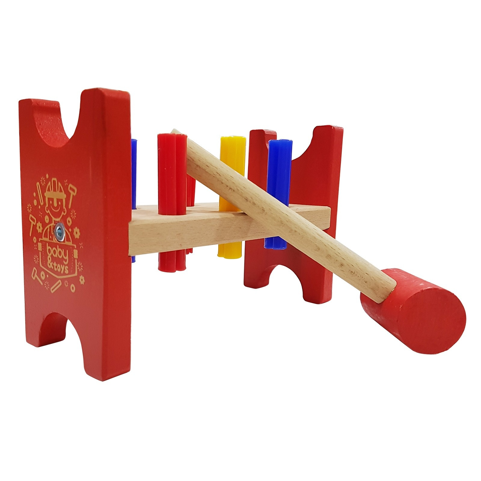 Ebebek Baby&toys Wooden Baby Educational Toy