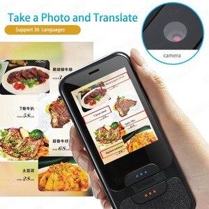 Image 5 - TOMKAS נייד חכם קול מתורגמן 2.4 אינץ מגע מסך WiFi עבור Travelling תמונה תרגום רב שפה מתרגמים