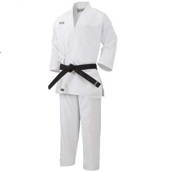Dr. KO KARATEGI Kimono de Karate. Conjunto chaqueta pantalón costuras reforzadas. Unisex para niños y Adultos