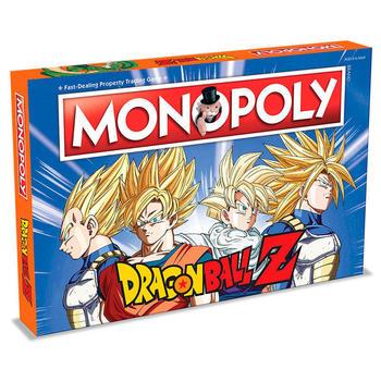 Monopoly de Dragon Ball Z en español Merchandising de Dragon Ball Productos que enviamos en 3 días