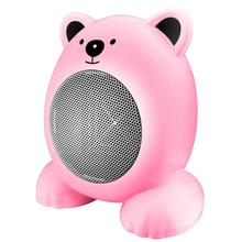 Portable Desktop Cartoon Electric Heater Home Office Cute Warm Fan Mini Space