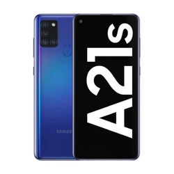 Samsung Galaxy A21S 3 Гб/32 ГБ, Две Синие SIM-карты A217