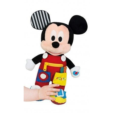 Clementoni Baby Plush Mickey, First Learning