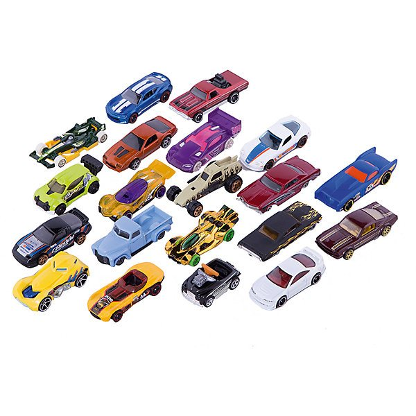 Set Of Basic Machines Hot Wheels, 20 Pieces