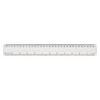 Ruler Transparent (30 Cm) 148738 фото
