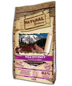 NATURAL GREATNESS WILD INSTINCT FOR CATS 6 KG