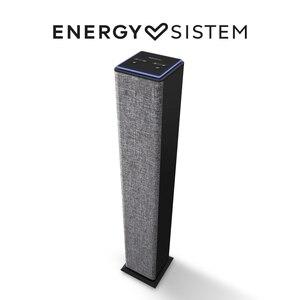 Энергетический Sistem Tower 2 стильный дизайн, колонка в стиле «Таиланд» с Bluetooth (25 Вт, портативный MP3-плеер USB/MicroSD, fm-радио, линейный вход)-серый