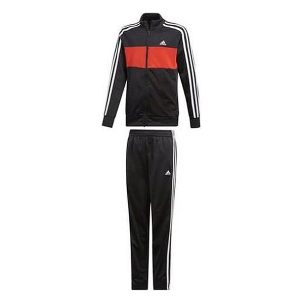 Children's Tracksuit Adidas (Talla XL) Black