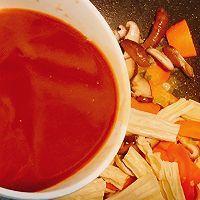 ㊙️简单又好吃,米饭杀手!香菇胡萝卜炒腐竹的做法图解13