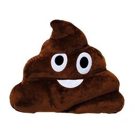 Emoticonworld Poop 32 Cm-Cushion Emoticon.