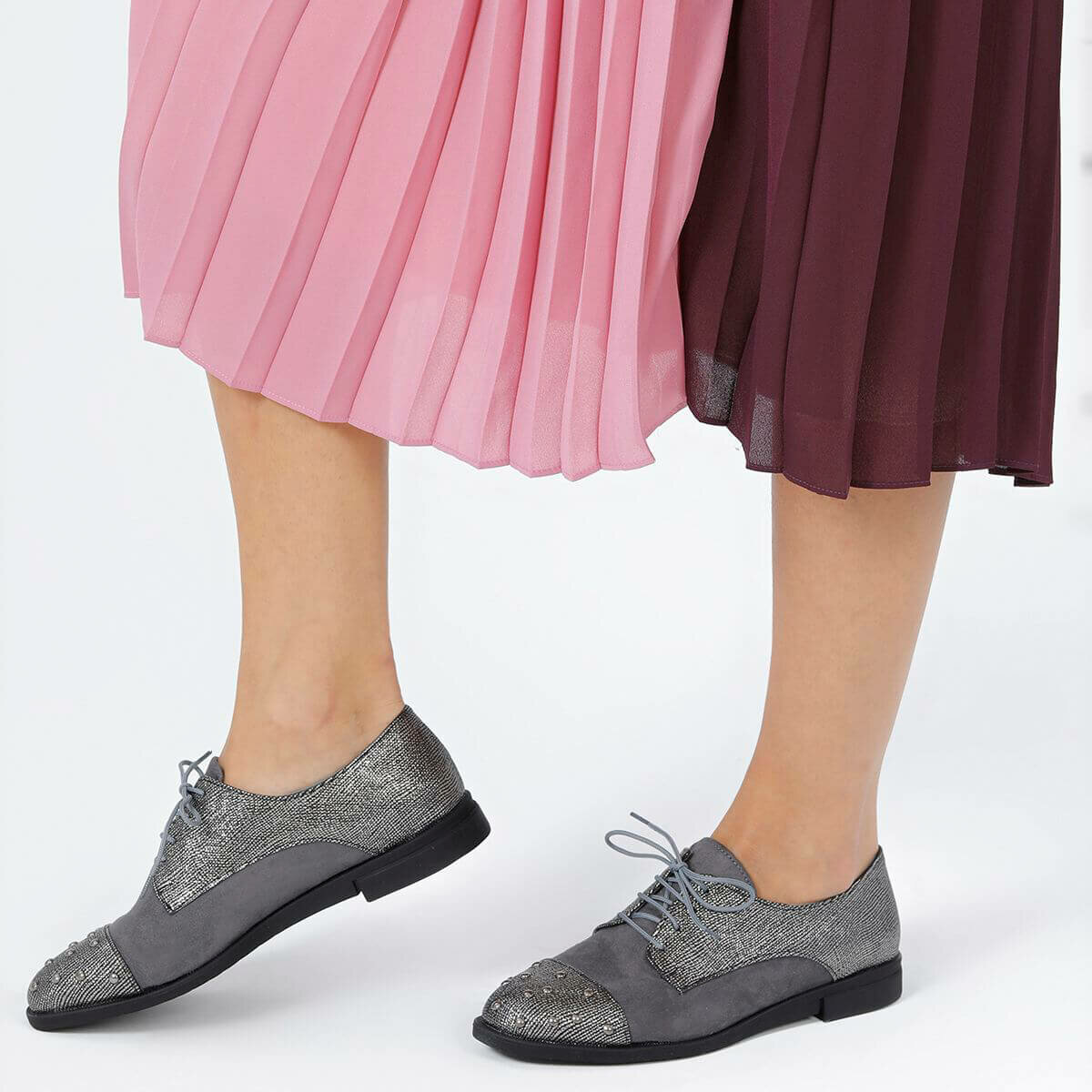 FLO KUMIHO06Y B Silver Women Shoes BUTIGO