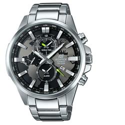 كاسيو اديفيس ساعة مزدوجة الطلب العالم مرة خريطة العالم الهاتفي رجالي ساعة معصم العلامة التجارية الفاخرة الكوارتز مقاوم للماء EFR-303D-1AVUDF