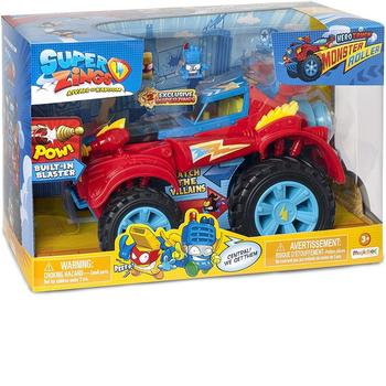 SuperZings-Playset Villian Truck Special Vehicles And Figures Collectibles, Color Assorted