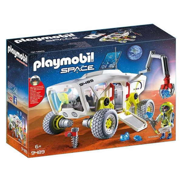 Playset Space Car Playmobil 9489