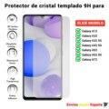 Защитная пленка для экрана для Samsung Galaxy A02s A12 A32 A42 A52 A72 5G. Прозрачное закаленное стекло для movil. Выбрать модель