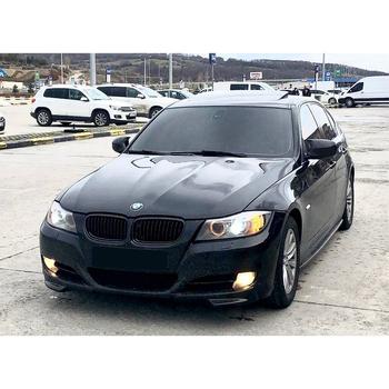 Lustro pokrowiec na BMW E90 LCI 2005 2006 2007 2008 2009 2010 2011 akcesoria czarny błyszczący BAT obudowa z batmanem samochodu tarcze części zewnętrzne tanie i dobre opinie Autovision TR (pochodzenie)
