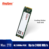 KingSpec SSD M2 nvme 120gb 240gb 500gb M2 SSD 1TB 2TB pcie NVMe 2280 PCIE SSD M.2 HDD PCIe Internal Hard Drive For Laptop MSI