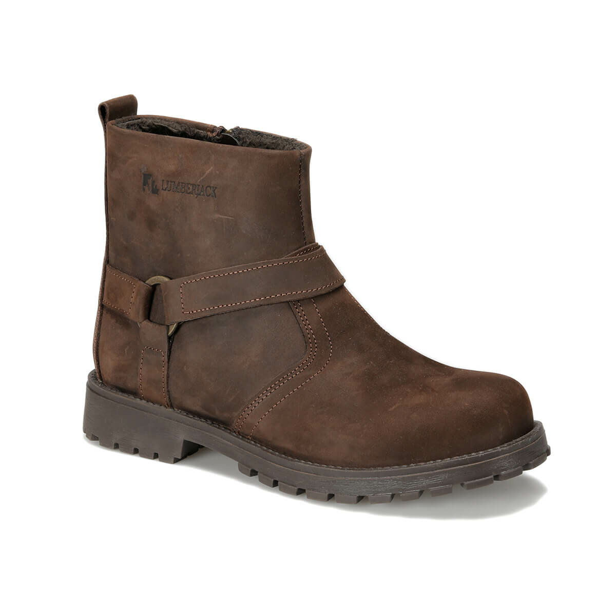 FLO WATSON 9PR Brown Male Child Boots LUMBERJACK