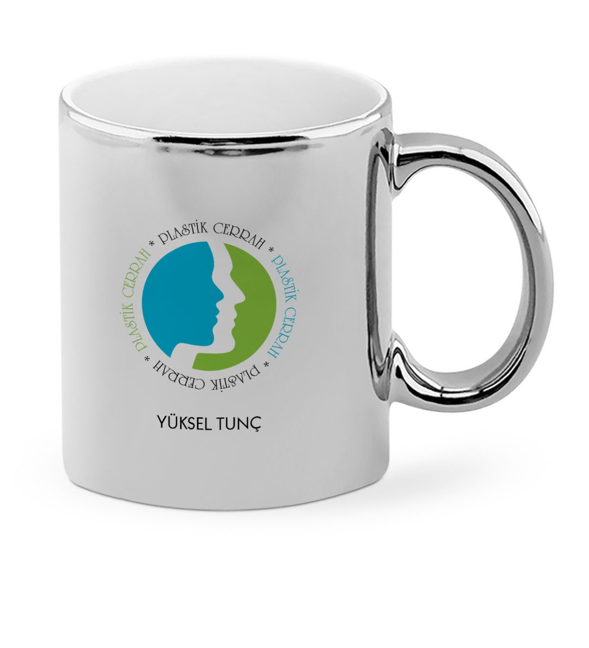 Personalized Professional Plastic Surgeon Chrome Mug Cup-1 image