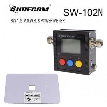 SURECOM SW-102N UV Digital VHF/UHF Power with Ground Plate (124742)