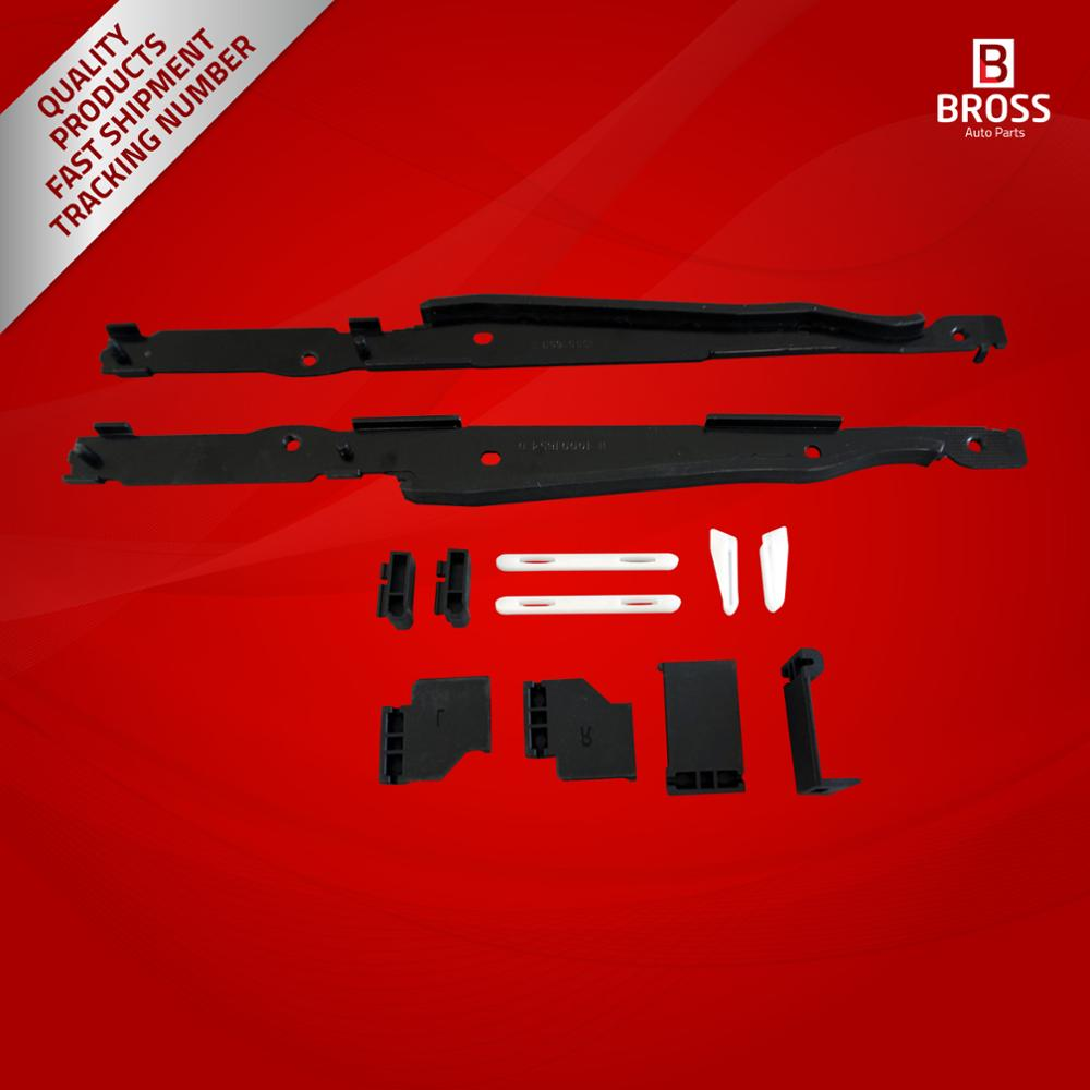 Bross BSR529+BSR530 12 Pieces Sunroof Repair Kit for  X5 E53 and X3 E83 2000-2006