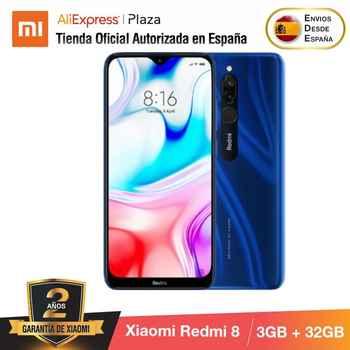 Xiaomi Redmi 8 (32GB ROM con 3GB RAM, Cámara de 12MP, Android, Nuevo, Móvil) [Teléfono Móvil Versión Global para España] redmi8