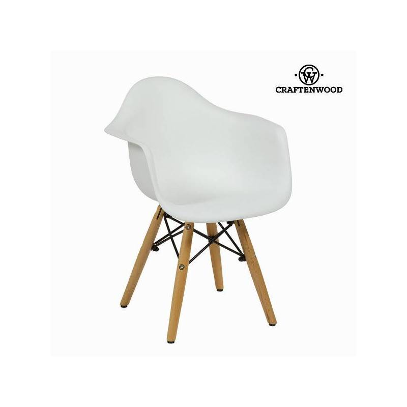Chair For Children ABS Whitest By Craftenwood
