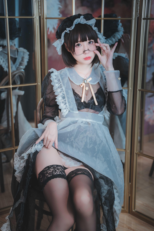 【精品美图】南鸽 透明女仆 (50P2V)
