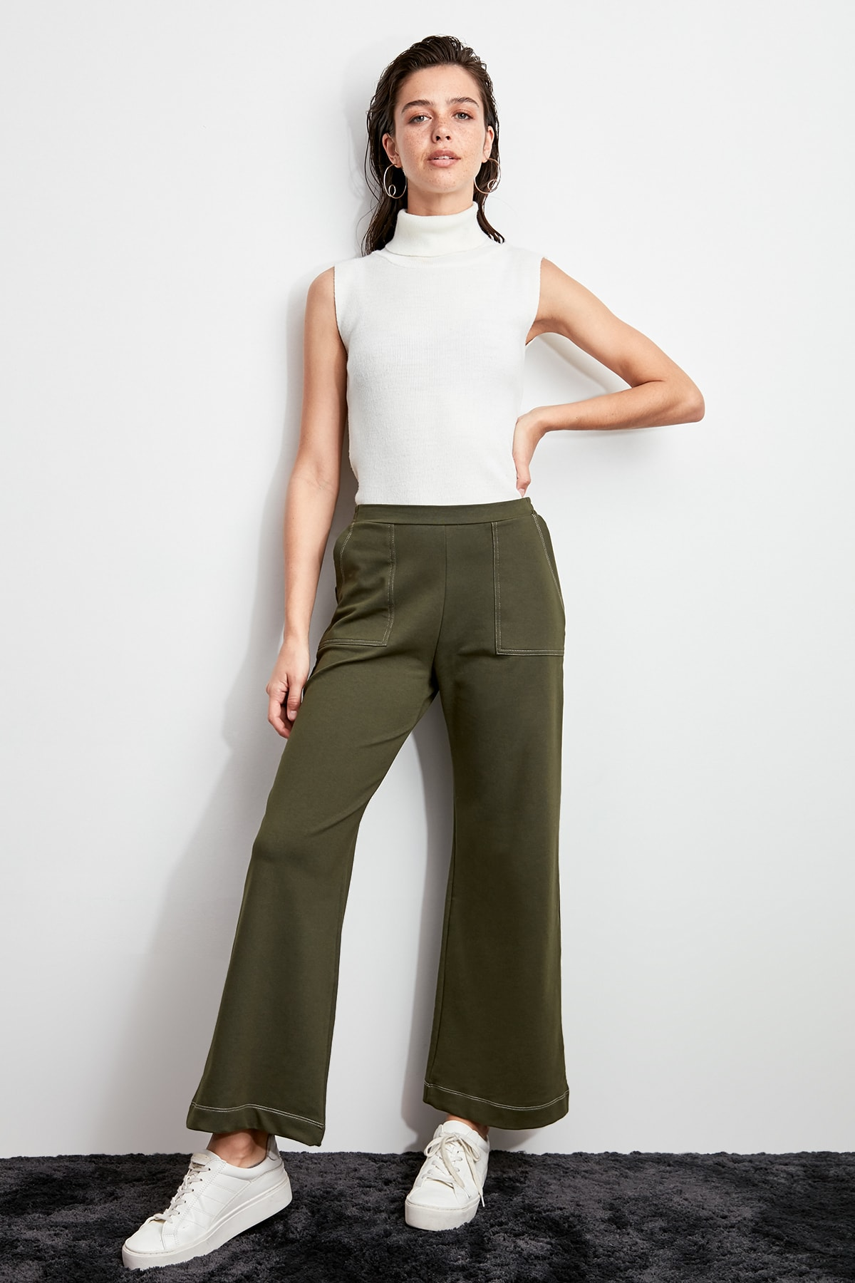 Trendyol Pocket Detail Knitting Pants TWOAW20PL0480