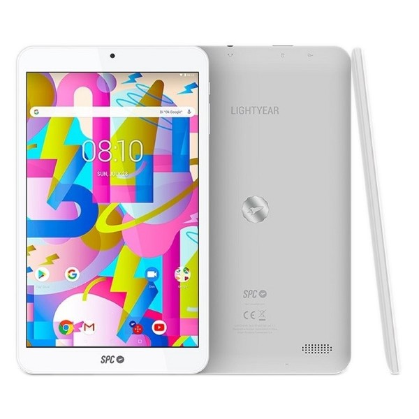 "Tablet SPC 9744332B 8"" Quad Core 3 GB RAM 32 GB White"
