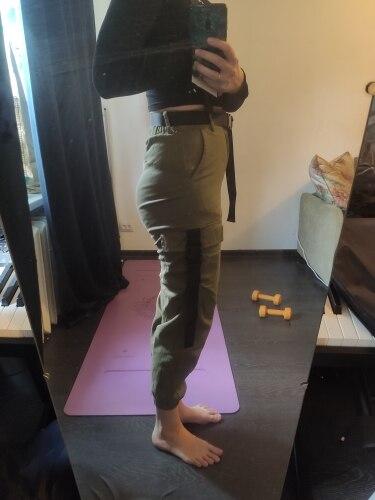 Calças e capris Cintura Mulheres Primavera
