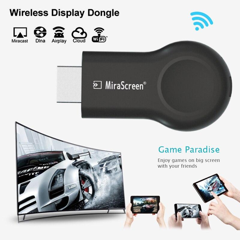 Экран Mira E8 Miracast, беспроводной ключ для телевизора, DLNA AirPlay, совместимый с HDMI, одинаковый экран зеркального отображения, Wi-Fi дисплей, приемник