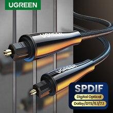 Ugreen Digitale Optische Audio Kabel Toslink 1M 3M Spdif Coaxiale Kabel Voor Versterkers Blu-ray Speler Xbox 360 Soundbar fiber Kabel