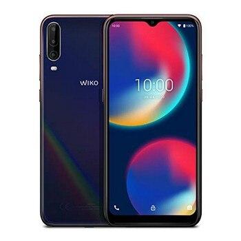 Перейти на Алиэкспресс и купить Смартфон WIKO MOBILE View 4, экран 6,52 дюйма, Восьмиядерный, 3 ГБ ОЗУ 64 Гб ПЗУ, синий
