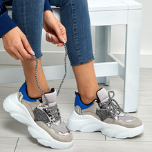 FLO Women Sneaker Shoes New Platform Ladies Sneakers Breatha