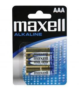 Pilas Maxell bateria Оригинал Alcalina Tipo AAA LR03 1,5 V en блистер 4X Unidades