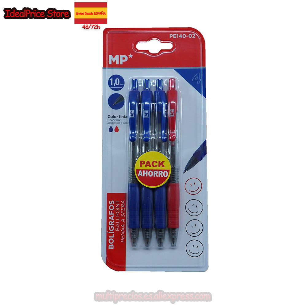 MP®Ball Pen Point PACK SAVING De 4 Gel Ink Pens