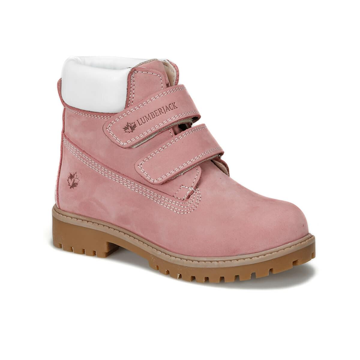Flo Fiume 9PR Rosa Bambino Femminile Stivali Lumberjack