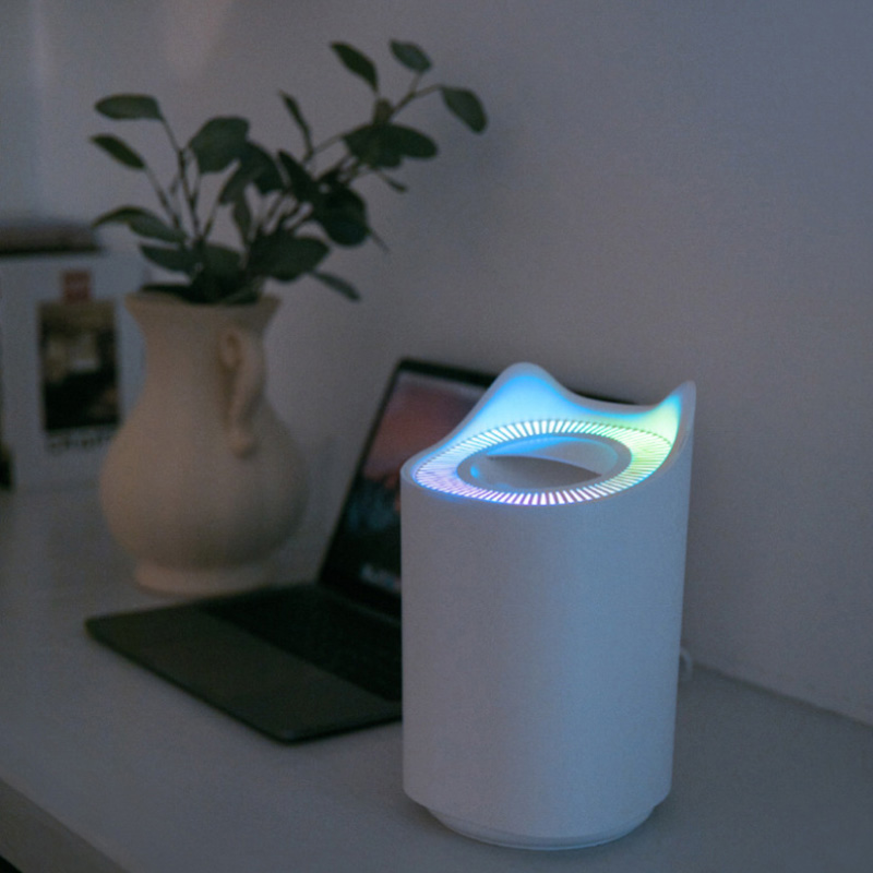 3000ml USB Air Humidifier Dual Mist Ultrasonic Aroma Diffuser Mist Maker with Colorful LED Lights Office Desktop Air Purifier