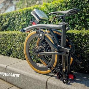 """Fahrrad Reifen Marathon Plus Kojak EINE EVO Bike Reifen 16 """"1,35 16x1 1/4"""" 349 Greenguard Geschnitten Gelb für Brompton 3 Sechzig 360 e-bike Reifen"""