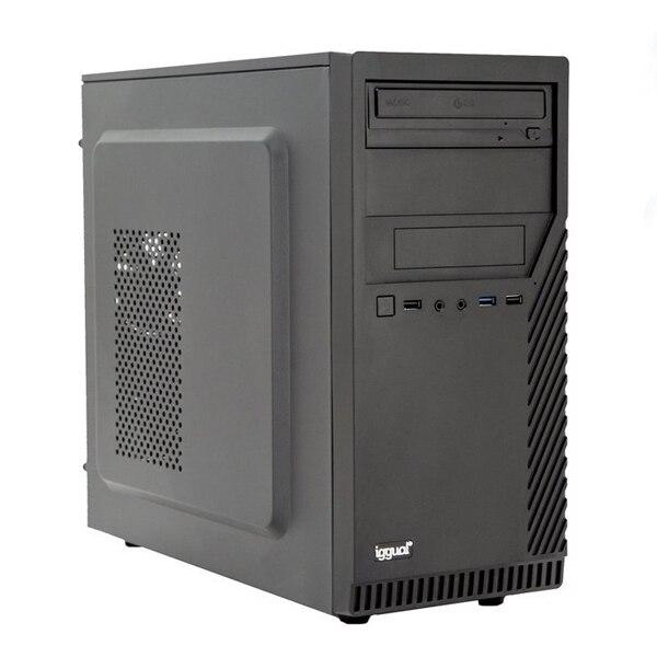 Desktop PC Iggual PSIPCH437 I5-9400 8 GB RAM 240 GB SSD W10 Black