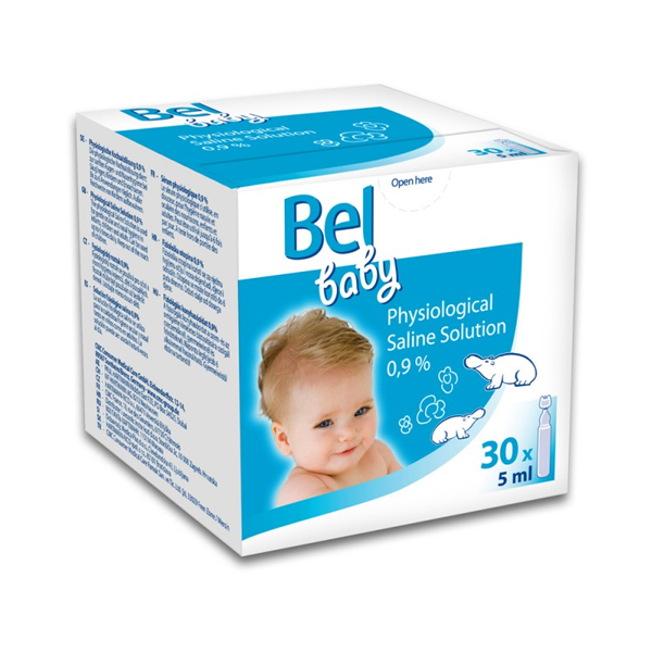 Saline Solution Baby <font><b>Bel</b></font> (5 ml) image